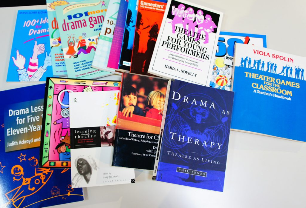 演劇教育にまつわる本