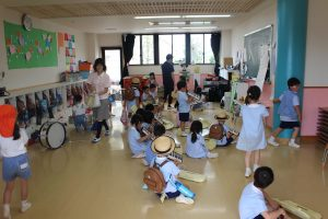 教室いっぱい