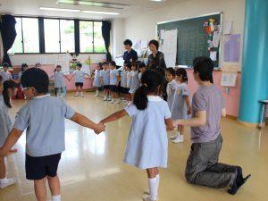 習志野台幼稚園の園児
