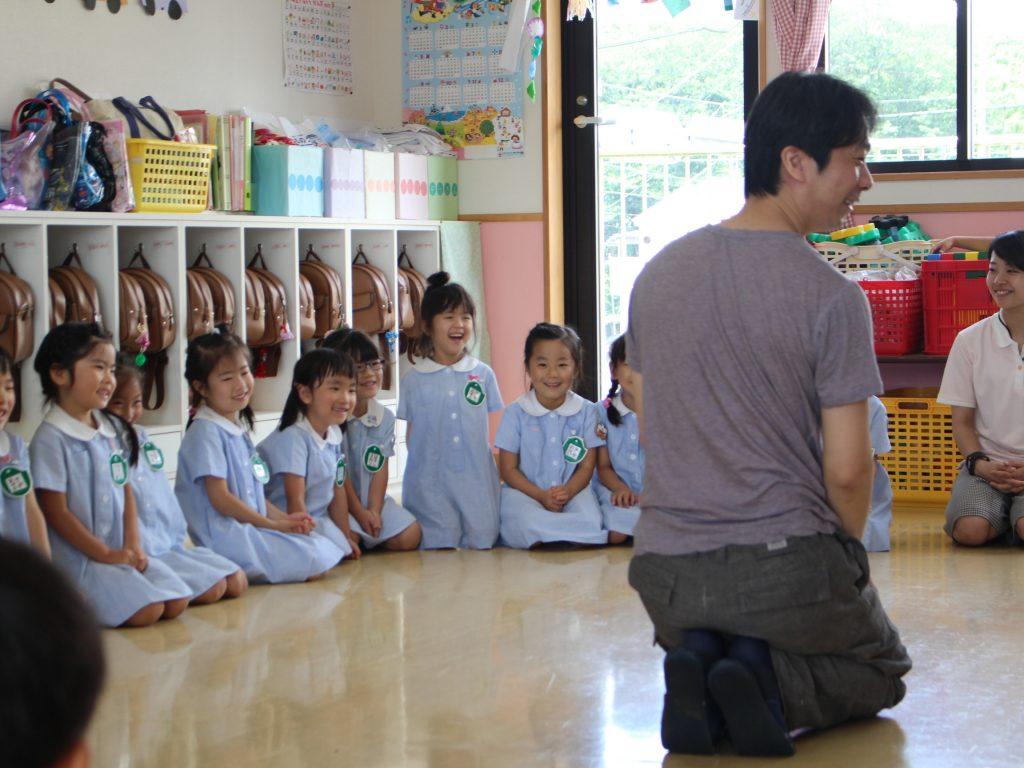 習志野台幼稚園のイキイキとした子どもたち