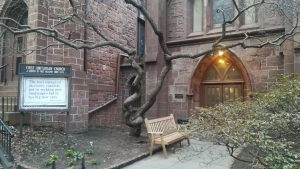 教会で演劇のワークショップ