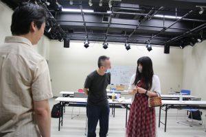 Forum theatre workshop Japan